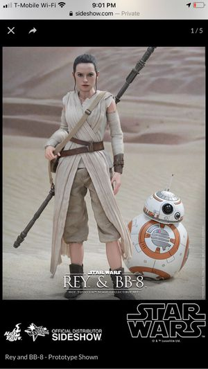 Hot Toys Rey & BB-8 1/6th scale action figure for Sale in El Paso, TX
