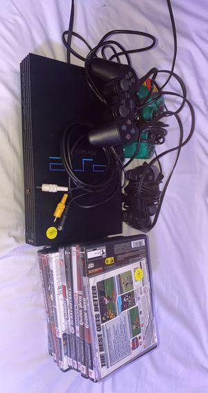 PS2 (3 controllers, 11 games) for Sale in Oak Ridge, TN