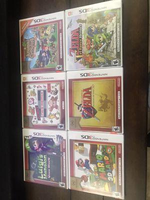 Nintendo 3DS Games ~ Super Mario ~ Zelda ~ Luigis Mansion for Sale in Houston, TX
