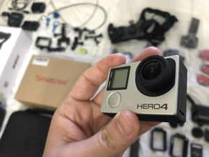 GoPro Hero 4 Silver and Removu S1 Gimbal and Accessories for Sale in Brooklyn, NY