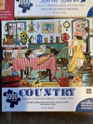 1000 piece puzzle for Sale in Shrewsbury, MA