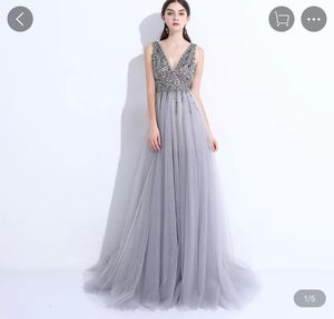 PROM Dress (A-Line, sequin, tulle/lace dress) for Sale in Rancho Cucamonga, CA