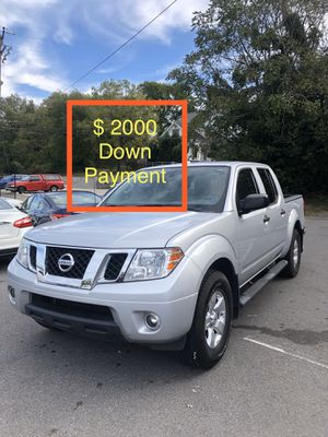 2012 Nissan Frontier $ 2000 Down Payment for Sale in Nashville, TN