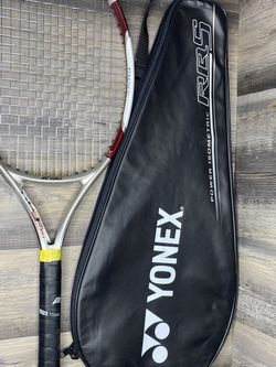 Yonex RQS 55 Tennis Racquet 4 3/8 Grip 112 Face 250g With Cover Made In Japan for Sale in Charlotte,  NC