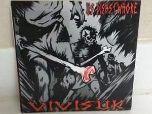 "VIVISUK 45 Record - US Disastwhore - 7"" Punk Vinyl 2005 for Sale in Las Vegas, NV"