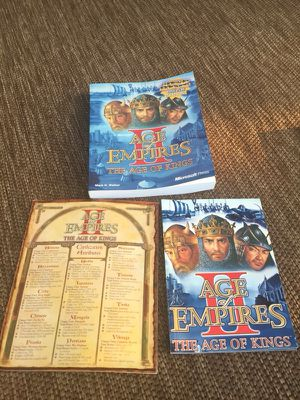 Age of Empires II + Strategy Guide for Sale in Columbus, OH