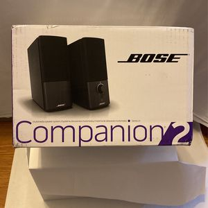 BOSE Companion 2 Series III Multimedia Speaker System for Sale in Modesto, CA