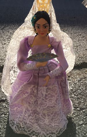 Antique Spanish Senorita Doll. Rare for Sale in Reynoldsburg, OH