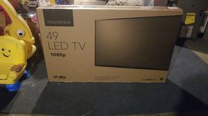 """Insignia 49"""" LED TV for Sale in Pittsburgh, PA"""