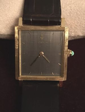 Solid 18K Corum Vintage Manual Watch for Sale in West Palm Beach, FL