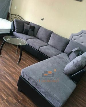 Brand New Grey Microfiber Sectional Sofa Couch for Sale in Silver Spring, MD