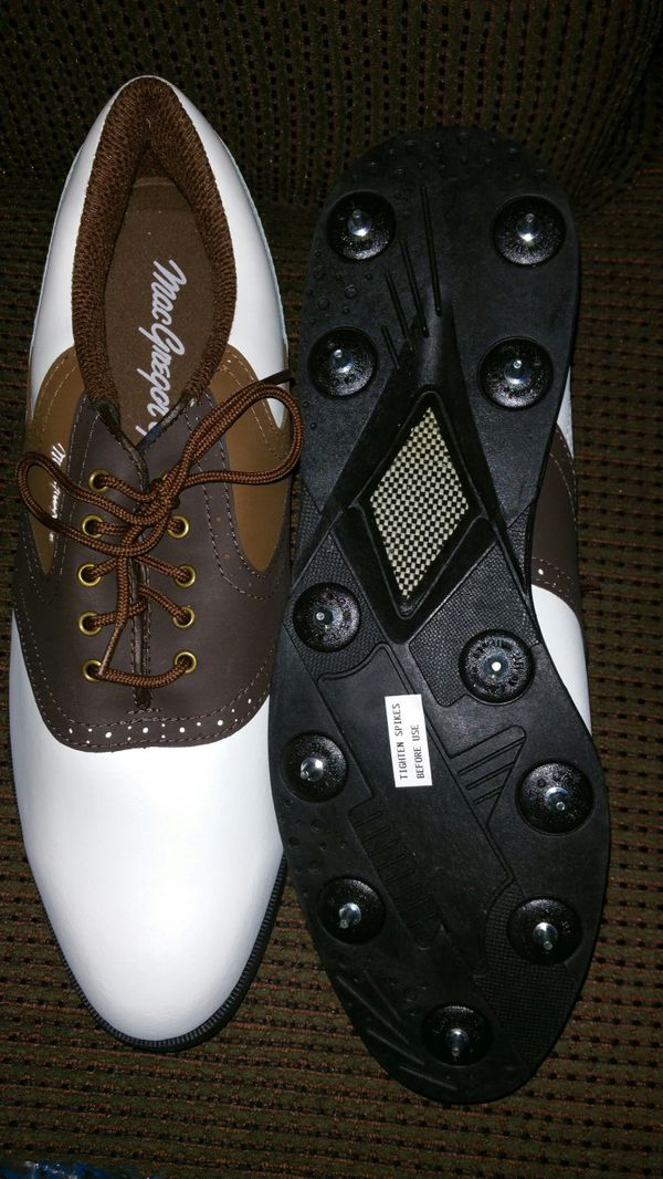 Brand new, never worn Macgregor golf shoes spikes