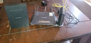 Netgear Modem 3.0 and Wirless router nighthawk for Sale in Oklahoma City, OK