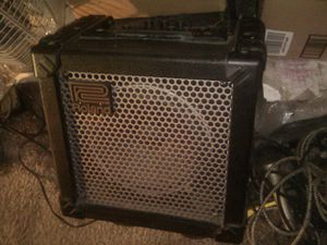 Rolland Cube 15 amp w distortion, Metal, overdrive, 3 band equilizer built in for Sale in Groveport, OH