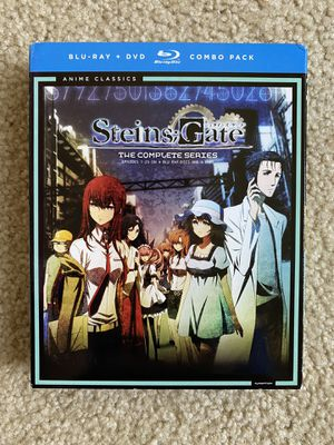 Steins Gate - The complete series Blu-Ray + DVD combo pack for Sale in Redmond, WA
