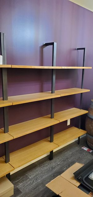 CB2 Helix bookshelf (there are two in the first photo, second is a photo from cb2 of the desk version) for Sale in Marina del Rey, CA