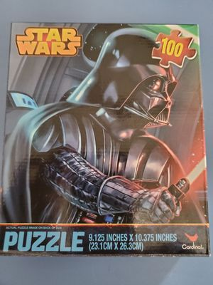Disney Star Wars Darth Vader 100 Piece Puzzle for Sale in Lewisville, TX