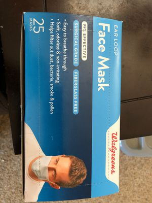 Face mask box 25 count for Sale in Yucaipa, CA