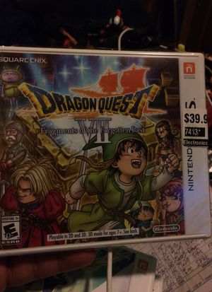 Dragon quest vii Nintendo 3ds brand new for Sale in East Los Angeles, CA