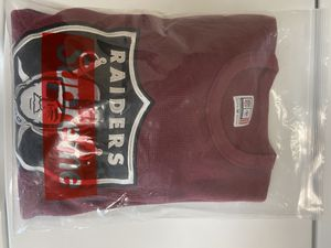 Supreme raiders thermal long sleeve sz M for Sale in Costa Mesa, CA