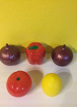 Vegetable Shaped Storage Containers for Sale in Austin, TX