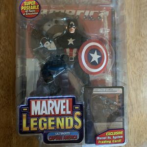 Marvel Legends Ultimate Captain America And Iron Man for Sale in Mesa, AZ
