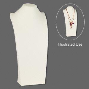 Used, White Necklace Display Bust for Sale for sale  Brooklyn, NY