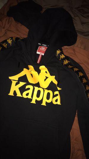 Black and yellow kappa hoodie for Sale in Philadelphia, PA