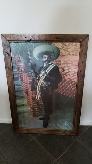 "Emiliano Zapata Print 38""×26.5"" for Sale in Brownsville, TX"