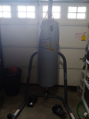 Punching bag with stand for Sale in Tacoma, WA