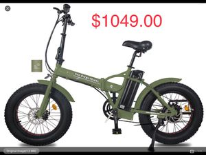 48V 750W Brand-New Electric Bike Next Day Delivery Assembled for Sale in Cardiff, CA
