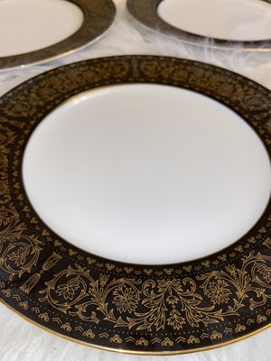 Black And Gold Seyei Fine China Regency 6908 for Sale in Happy Valley, OR