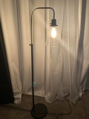 Black & Gold Floor Lamp for Sale in Tomball, TX