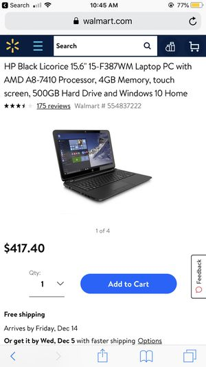 Touch Screen Laptop for Sale in Rockville, MD
