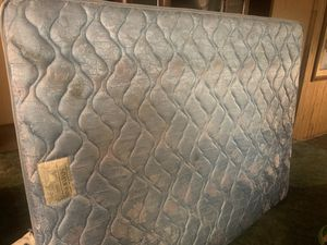 Queen size mattress and meatball frame in decent condition for sale for Sale in Grayland, WA
