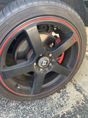 18inch motegi wheels 5x112 for Sale in Chester, VA