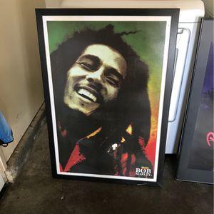 Bob Marley Canvas for Sale in Salinas, CA