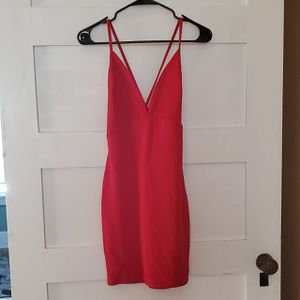 NEW Red Mini Dress by Boohoo size 10 for Sale in Woburn, MA