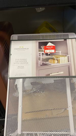 Stackable organizer with drawer for Sale in Las Vegas, NV