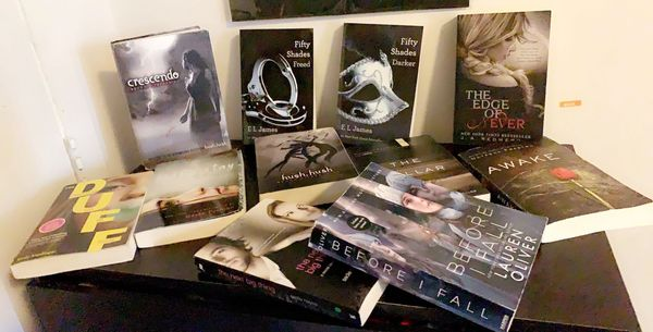 11 Young Adult Books for sale !!!!!!!