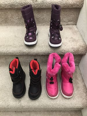 Kids snow boots for Sale in Milpitas, CA