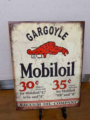 Gargoyle tin sign for Sale in Lakeland, FL