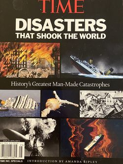 TIME Disasters That Shook The World for Sale in Vista,  CA