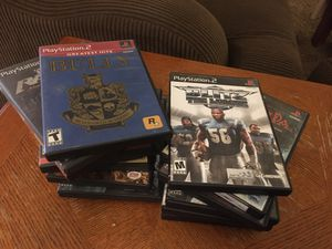 Set of 16 Video Games PS2 for Sale in Fresno, CA