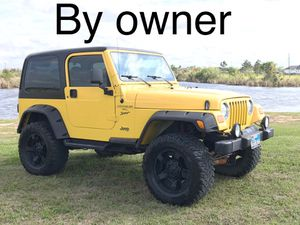 01 Jeep Wrangler Sport for Sale in Rosharon, TX