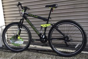 ALUMINUM MOUNTAIN BIKE SHIMANO/ 21 SPEEDS/ DUAL SUSPENSION / DUAL DISC BRAKE/ SIZE 29 inches for Sale in Sunny Isles Beach, FL