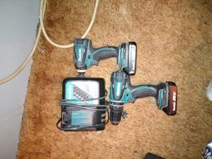 Makita 18v drill and impact for Sale in Destin, FL
