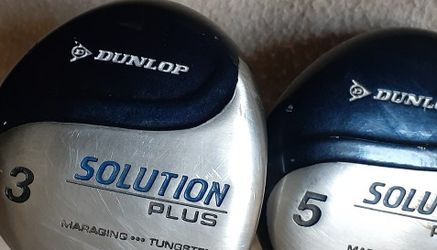 Dunlop Solution Plus 3 & 5 Wood for Sale in Oklahoma City,  OK