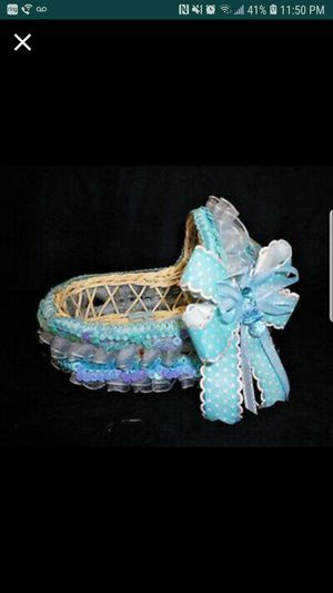 Charmed Woven Basket for Sale in Tampa, FL