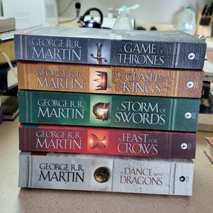 Game Of Thrones, Books 1-5 for Sale in Norman, OK